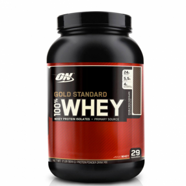 100% Whey Gold Standard (908 грамм) Золотой стандарт сывороточного протеина/США