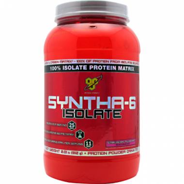 BSN Syntha-6 Isolate (912 грамм) Изолят сывороточного протеина/США