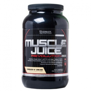 Ultimate Muscle Juice Revolution (2120 грамм) Высококалорийная смесь для набора массы