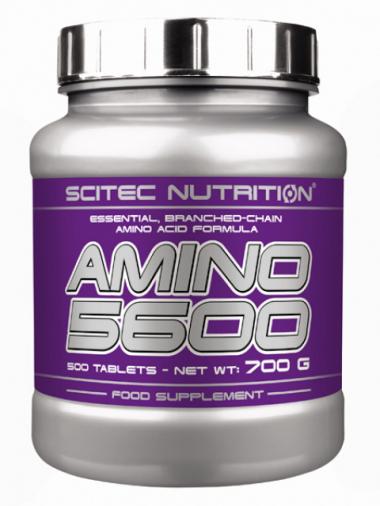 Scitec Nutrition Amino 5600 (500 таблеток) Комплексные аминокислоты/США