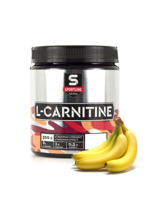 SportLine L-Сarnitine (500 грамм) с гуараной и витамином С в порошке