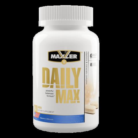 Maxler Daily MAX (120 таблеток) - Полный мультивитаминный и минеральный комплекс / США