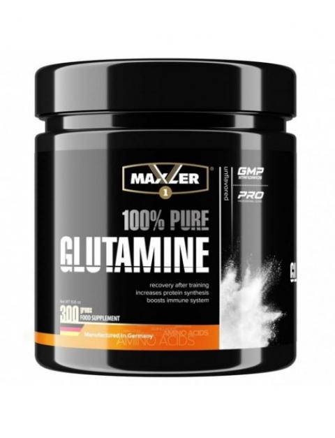 Maxler L-Glutamine (300 грамм) Л-Глютамин в порошке/США