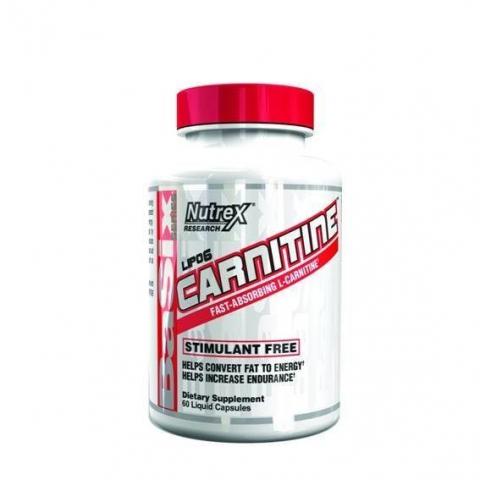 Nutrex Lipo6 L-Carnitine (60 капсул) L-карнитин-хлорид/США