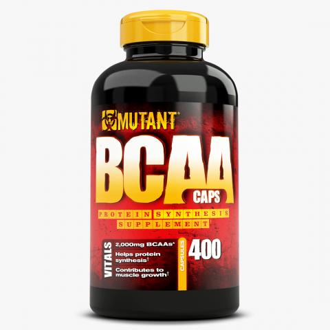 Mutant BCAA (400 капсул) ВСАА в капсулах/США