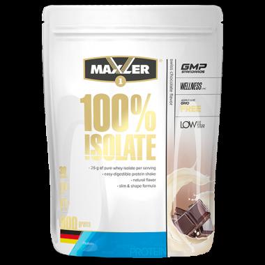 Maxler 100% Isolate (900 грамм) - Изолят сывороточного протеина высшей категории / Германия