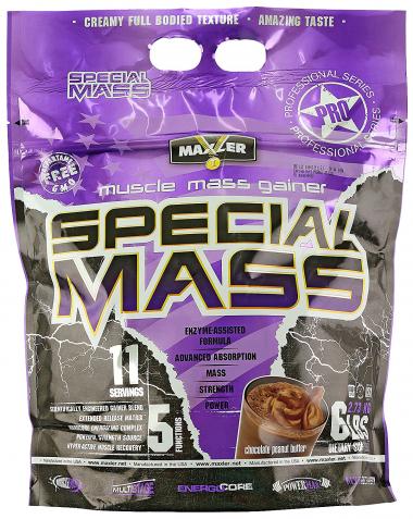 Maxler Special Mass (2720 грамм) Невероятно вкусный гейнер с высоким содержанием ВСАА/США