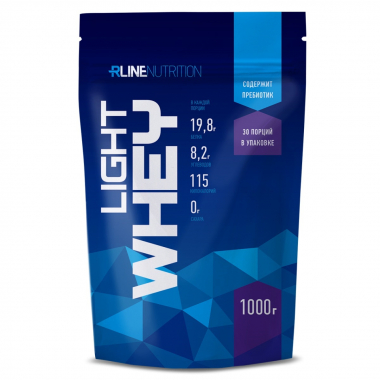R-Line Light Whey (1000 грамм) Сывороточный белок + пребиотик / Россия