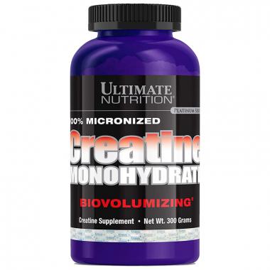 Ultimate Nutrition Creatine Monohydrate (300 грамм) микронизированный креатин в порошке/США