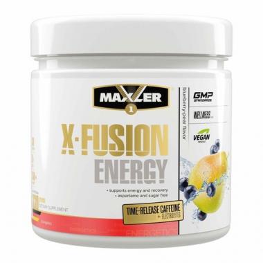 Maxler Amino X-Fusion Energy (330 грамм) - Комплекс c ВСАА, цитрулином, кофеином и витамином В6 /США