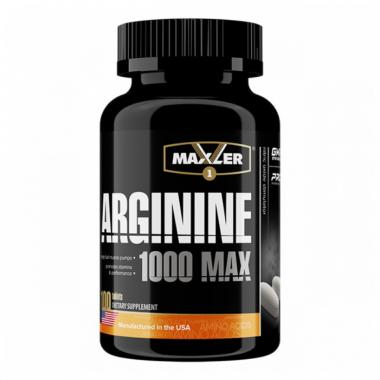 Maxler Arginine (100 таблеток) Аргинин в таблетках/США