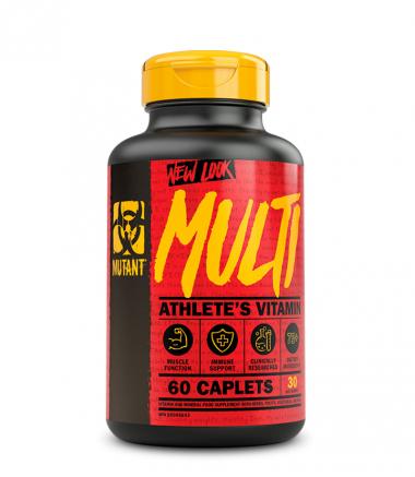 Mutant MULTI Vitamin (60 таблеток) - полный витаминно-минеральный комплекс/ Канада