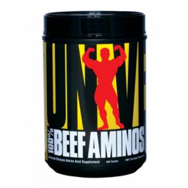 Universal Nutrition Beef Aminos (200 таблеток) Комплекс аминокислот из говядины/США