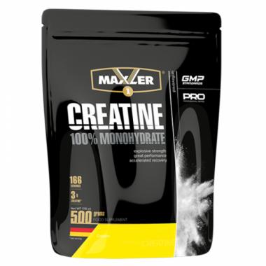 Maxler Creatine (500 грамм) Креатин моногидрат в порошке/Германия