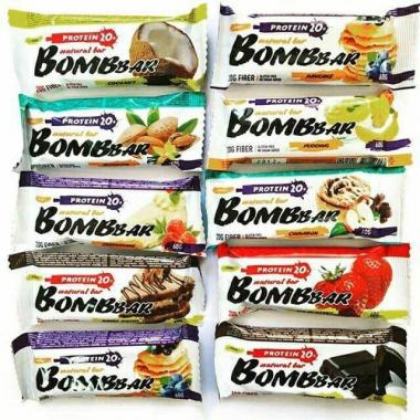 Bombbar (60 грамм) Белковый батончик без сахара/Россия