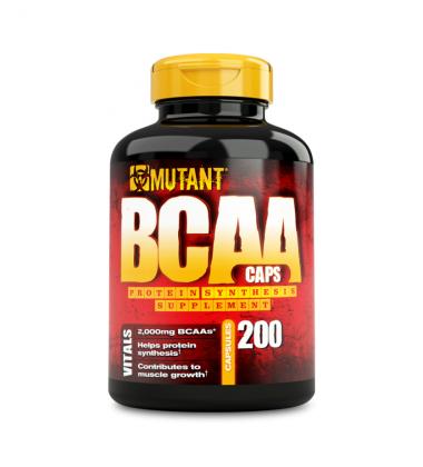 Mutant BCAA (200 капсул) ВСАА в капсулах