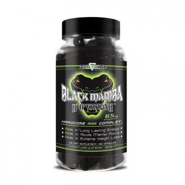 Innovatine Labs Black Mamba (90 капсул) Мощнейший жиросжигатель на рынке/США