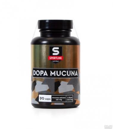Sportline Dopa Mucuna -Мукуна жгучая 167 мг (90 капсул)/ Россия