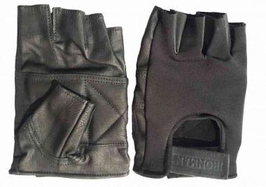 Перчатки кожаные с эластичной вставкой IRONMAN/Россия