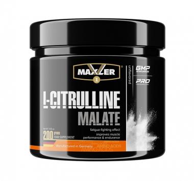 Maxler L-Citrulline Malate 5g (200 грамм) Л-цитрулин в порошке / США