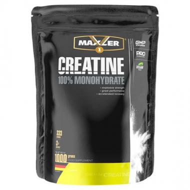Maxler Creatine Monohydrate (1000 г) - 100% моногидрат креатина в порошковой форме / Германия