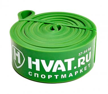 Фитнес-петля, зеленая, 17-54 кг.