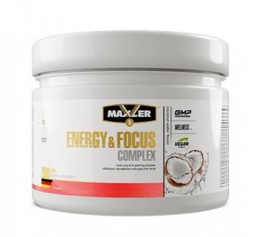 Maxler Energy and Focus Complex (200 г) - Комплекс для улучшения концентрации и работы мозга / Германия