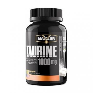 Maxler Taurine 1000mg (100 капсул) - Таурин / США