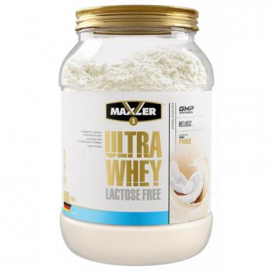 Maxler Ultra Whey Lactose Free (900 грамм) - Сывороточный протеин без лактозы / Германия